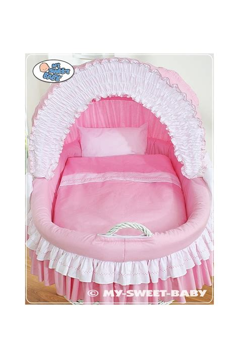neonato in neonato vimini bellamy rosa
