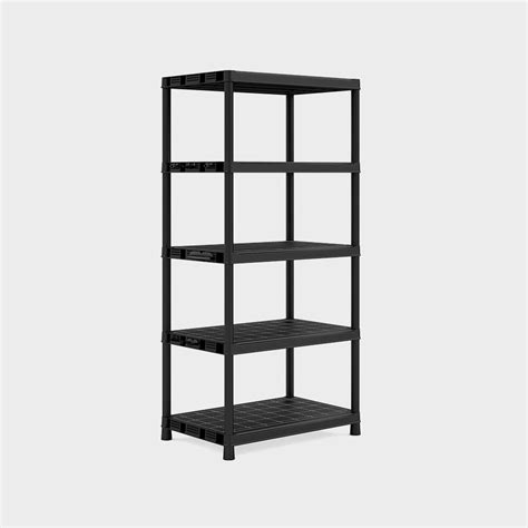 Scaffali Resina by Scaffale In Resina Quot Plus Xl 5 Quot Nero