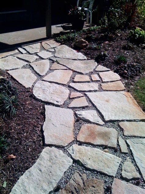 ozark flagstone steppers patio stone sqft