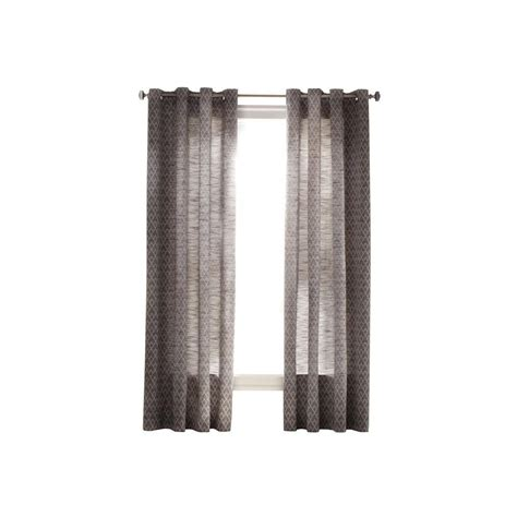 Curtain Grommet Kit Home Depot by Martha Stewart Living Zinc Sky Grommet Curtain
