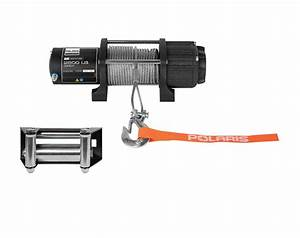 Polaris U00ae Hd 2 500 Lb  Winch