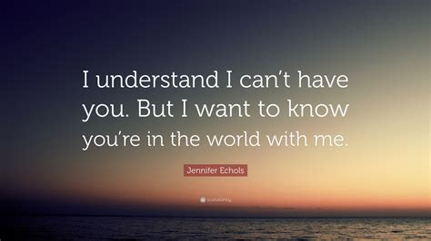 """""""i Understand I Can't Have You. But"""