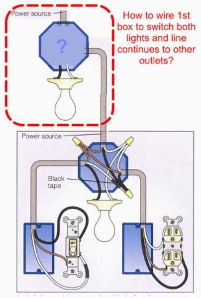 How Wire Light According Diagram Doityourself