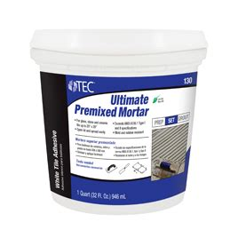 tec medium bed mortar inc