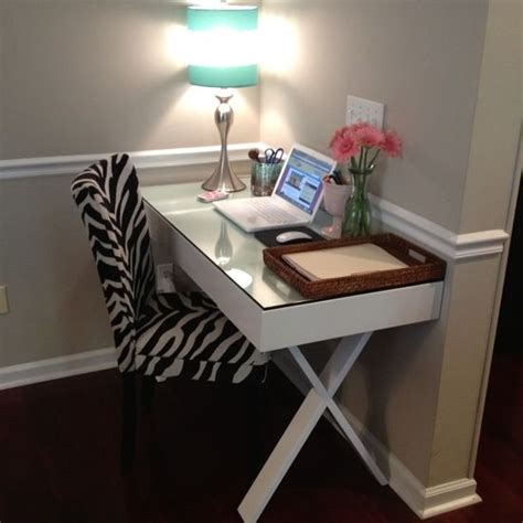 World Market Josephine Desk by My Office World Market Josephine Desk In White Zebra