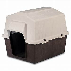 Shop aspen pet medium plastic dog house at lowescom for Aspen pet plastic dog house