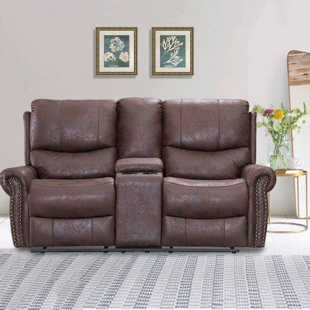 Theater Loveseat by Recliner Sofa Seat Reclining Sofa Leather