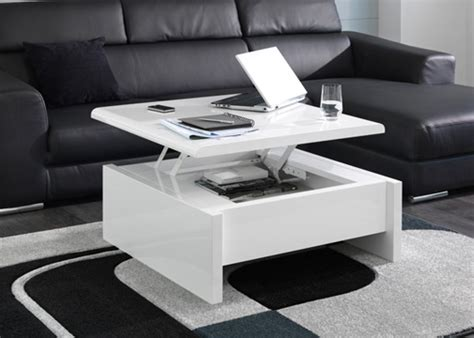 laredoute canapé table relevable design italien