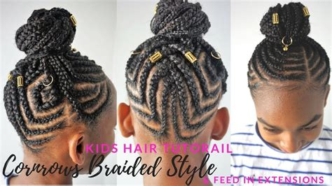 Kids Braided Hairstyles Tutorial