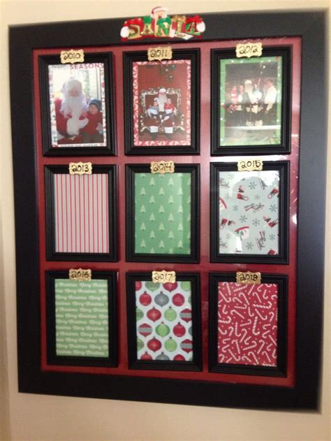 frame  spots  yearly santa pictures   crafts