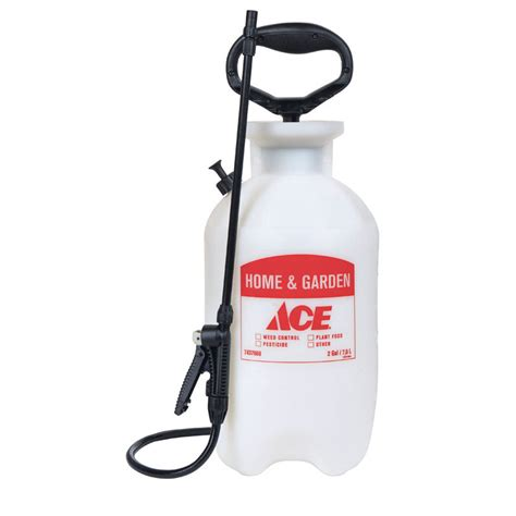 ace adjustable spray tip lawn  garden sprayer  gal