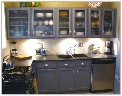Paint Metal Cabinets Kitchen  Home Design Ideas