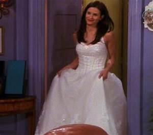 The nicest monica39s wedding dress was poll results for Friends wedding dress