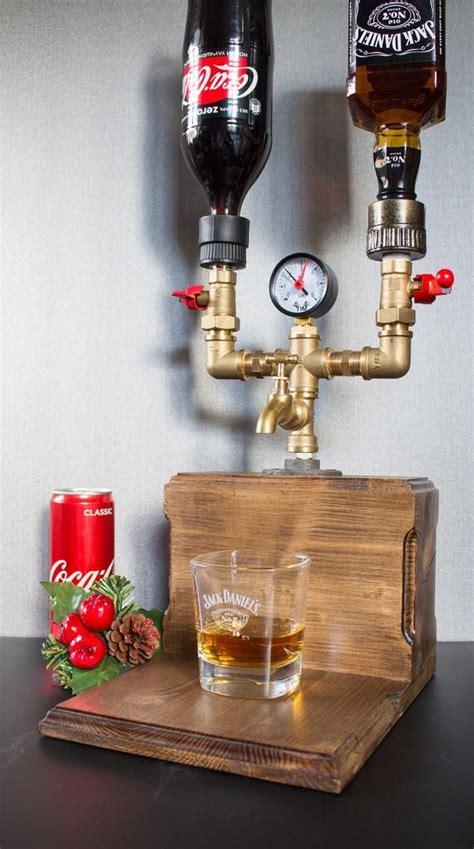 liquor gift for office gift for him liquor whiskey wood dispenser 21st 30th 40th 50th