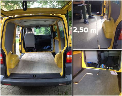 Pvc Boden Verlegen Wohnmobil by So Wird Ein T5 Posttransporter Zum Diy Cingmobil F 252 R