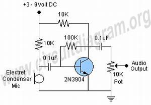 microphone preamp circuit circuit diagram circuit With electronics tricks and tips how to repair electronics choke