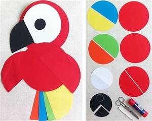 Bricolage Facile En Papier : best 25 bricolage facile ideas on pinterest children ~ Mglfilm.com Idées de Décoration