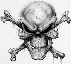 """AWESOME SKULLS """" N """" STUFF images skull cross bones evil ..."""