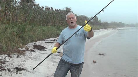 surf fishing rod care stuck ferrules