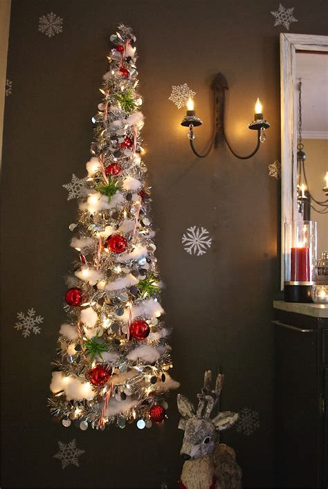 wall christmas trees 8 quick and easy christmas and chanukkah decorations