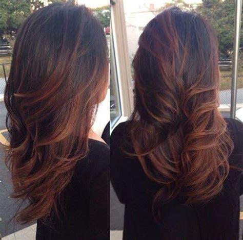 auburn balayage balayage hair hair beauty ombre hair