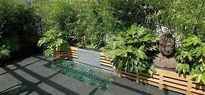 Une fontaine tres zen jardin terrasse balcon for Decoration de bassin de jardin 5 terrasse jardin zen