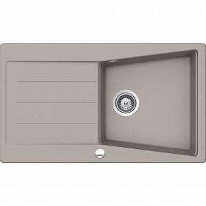 Evier Grand Bac Profond : evier encastrer granit et r sine b ton mensa 1 grand ~ Premium-room.com Idées de Décoration