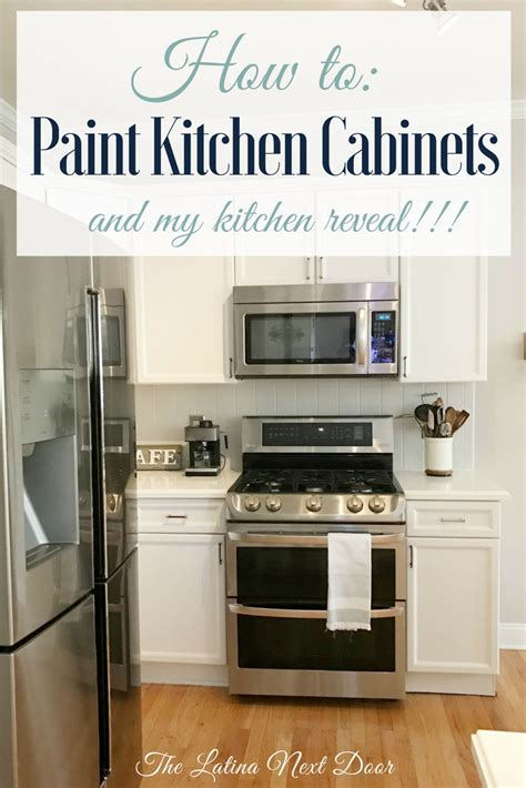 how to paint my kitchen cabinets how to paint kitchen cabinets the next door 8810