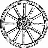 Wagon Wheel Clipart Svg Drawing Line Coloring Wheels Sketch Spoke Covered Dyson Thomas Getdrawings Vector Transparent Icon Wagonwheel Royalty sketch template