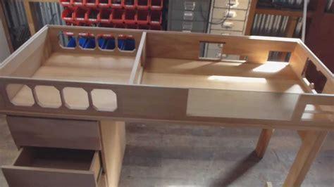 unique computer desk custom made watercooled desk part 1