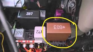Audi A4 2006 Relay Box Location