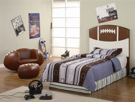 Interesting Sports Themed Bedrooms For Kids-interior