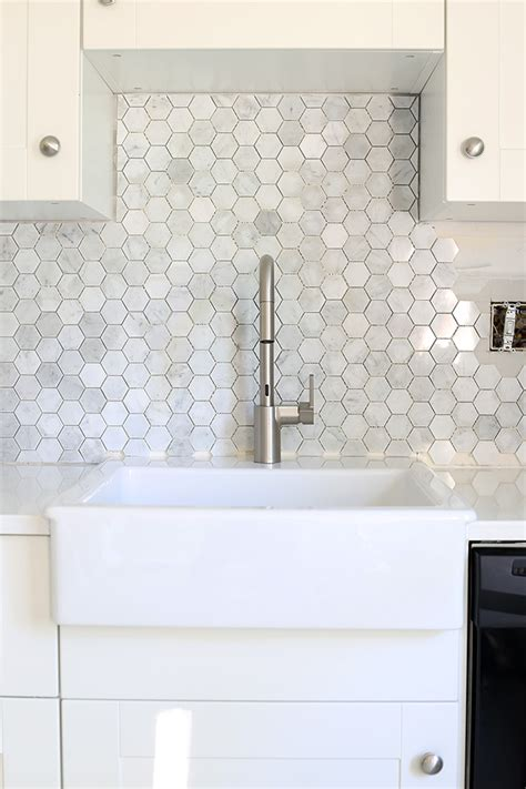 install moen kitchen faucet how to install a marble hexagon tile backsplash just a