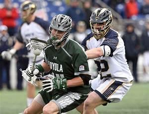In man-down defense for Loyola lacrosse, Jared Mintzlaff ...