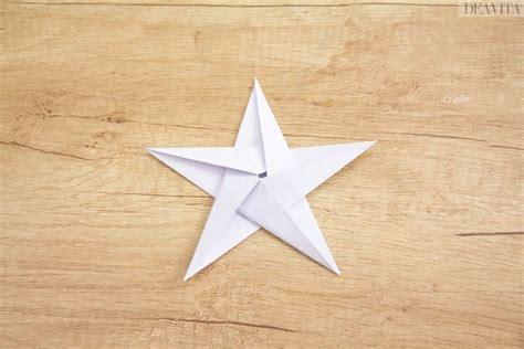 Fünfzackiger Falten by Origami Sterne F 252 R Weihnachten Selber Falten 3 Einfache
