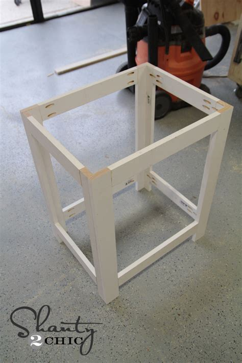 how to build a nightstand diy nightstand shanty 2 chic