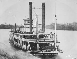 """Image of the steamboat """"Red Cloud"""" on the Missouri ..."""