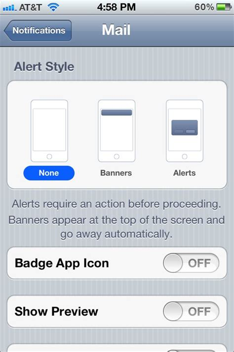 how to turn email notifications on iphone how to turn your iphone s unread email badge ios 5