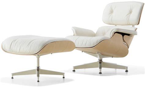 eames molded plywood dining chair white ash eames lounge chair ottoman hivemodern com