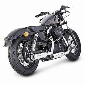 Harley Davidson Auspuff : exhaust silencer miller for harley davidson sportster xl ~ Jslefanu.com Haus und Dekorationen