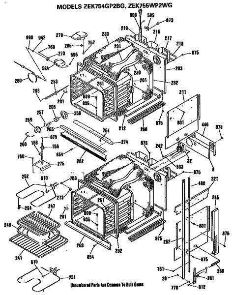 ge monogram elec bi pyro parts model zekgpbg sears partsdirect