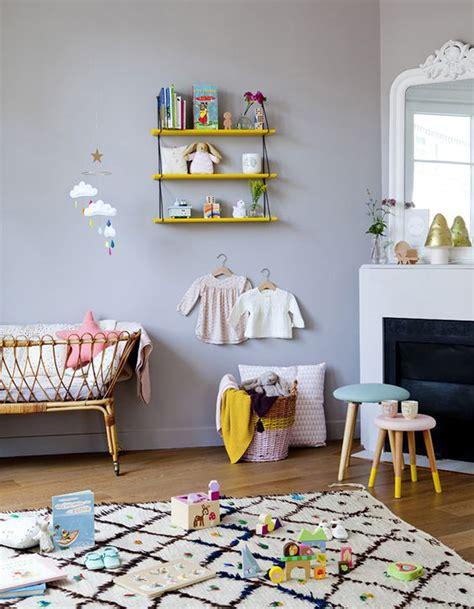 chambre des huissiers de chambre de bébé 25 idées pour une fille décoration