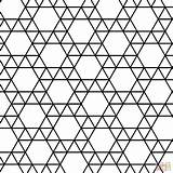Tessellation Coloring Triangle Hexagon Tessellations Geometric Printable Bird Colouring Escher Fish Square Paper Adult Popular Dot Drawing Puzzle Coloringhome sketch template