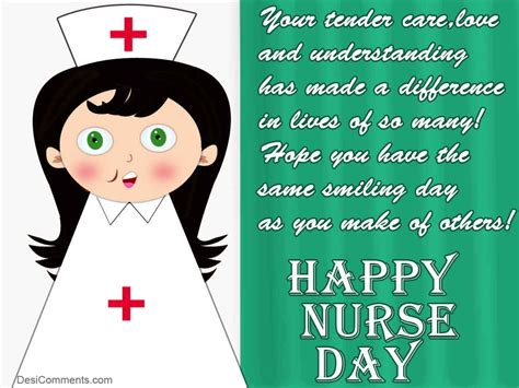 happy nurses day desicommentscom