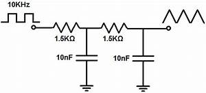 how to build a square wave to triangle wave converter circuit With triangle squarewave generator