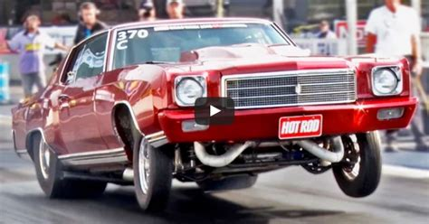 2000hp Twin Turbo Chevy Monte Carlo At Drag Week  Hot Cars