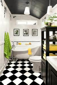 comment decorer la salle de bain 7 vous cherchez des id233es pour un carrelage noir et blanc