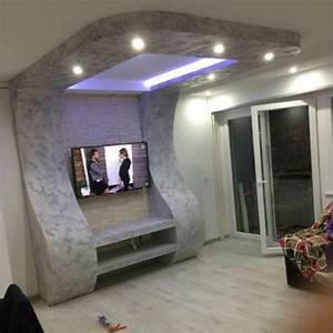 plafond placo decoratif veglixcom les dernieres idees With carrelage adhesif salle de bain avec personnage led noel