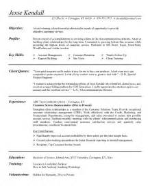Transition Resume Objective by Career Transition Resume Sle Resume For A Career