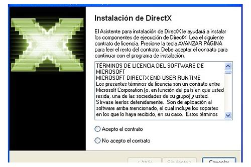 directx 9 baixar do dispositivo grafico